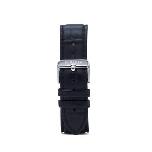 Black Leather Interchangeable Strap