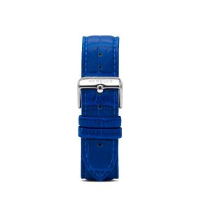 Blue Leather Interchangeable Strap